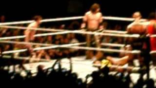 WWE Raw Live In PR San Juan Sept 4 2010 John Cena John Morrison & Mark Henry Vs Nexus