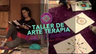 Taller de Arteterapia con Mandalas realizado en Costa Rica ♥