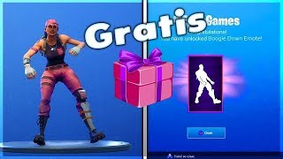 'HOW TO GET THE NEW BAILE (BOOGIE DOWN) à Fortnite !! TOTALEMENT GRATUIT ( TRAVAIL )