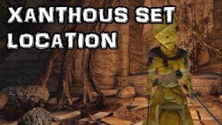 Dark Souls 2 Xanthous Set Location