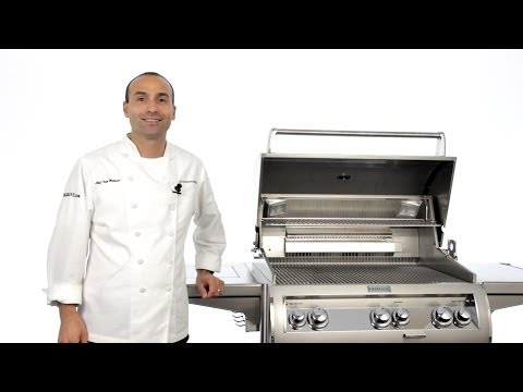 Fire Magic Echelon Analog Series Gas Grill Component Overview
