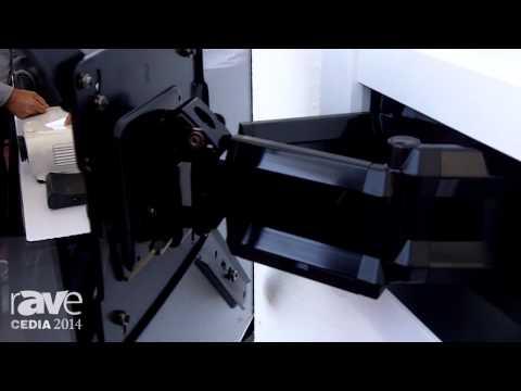 CEDIA 2014: OmniMount OE120IW Omni Elite Ultra Low Profile In-Wall TV Mount