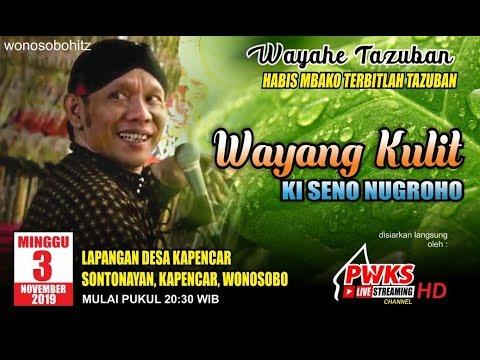 #pwkslive#livestreaming-pagelaran-wayang-kulit-dalang-ki-seno-nugroho-lakon-mbangun-taman-maerokoco