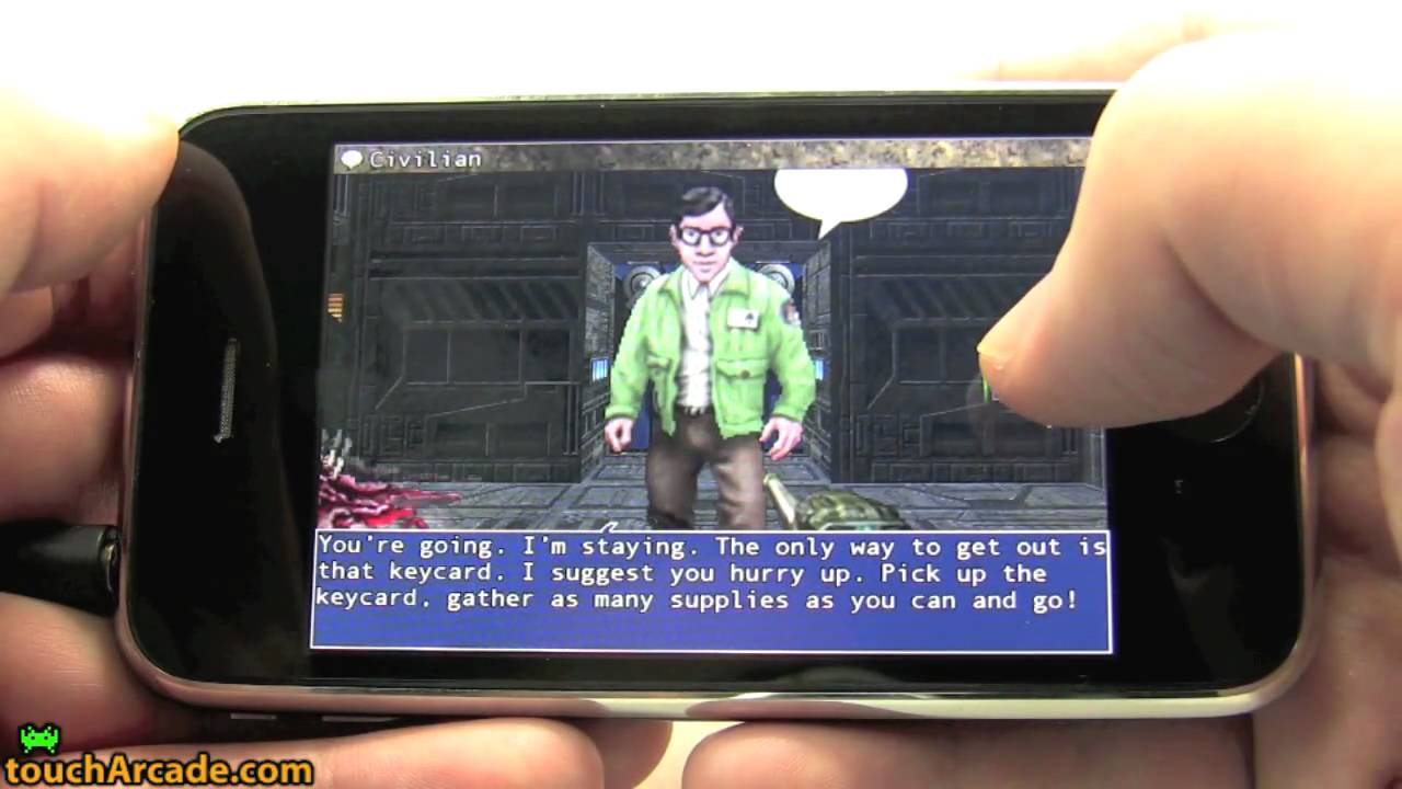 Doom II RPG Gameplay
