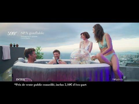 Vidéo Spa Intex -Pub  Hespéride