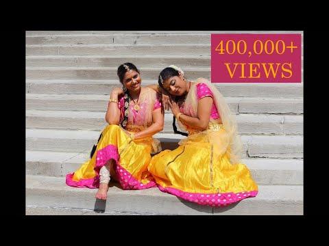 Kannaa nee thoongada Baahubali full song dance by Aparna Satheesan and Anjali Pillai