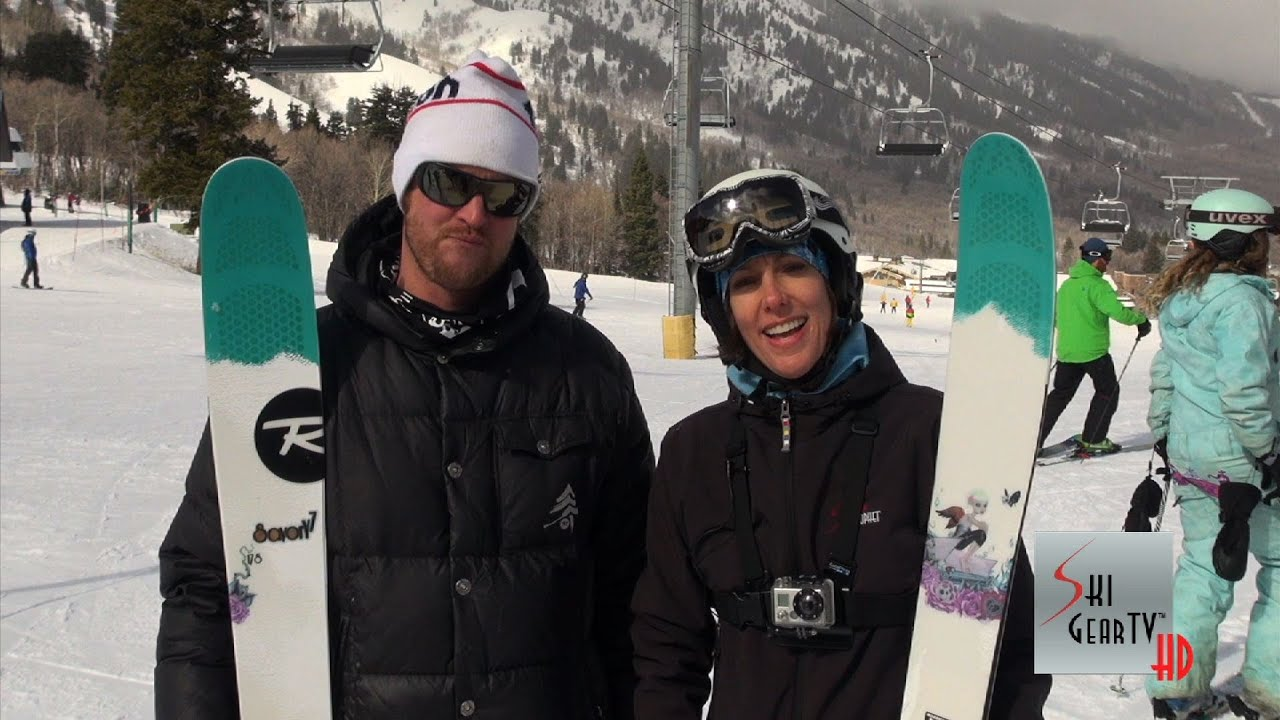 2014 Rossignol Savory 7 Ski Test With Caryn Flanagan And Tyler Northrup