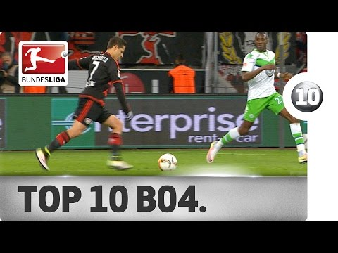 Top 10 Goals - Bayer 04 Leverkusen - 2015/16