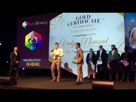 Evo Binary - DUBAI Event - 2016 - Jordan Belfort - Wolf of Wall Street