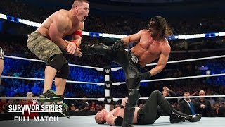 FULL MATCH - Team Cena vs. Team Authority - Elimination Tag Team Match: Survivor Series 2014