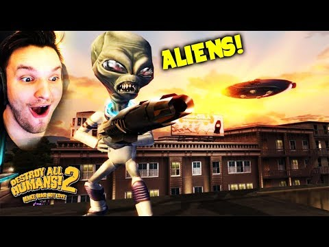 Download Youtube: ZERSTÖRE DIE MENSCHHEIT !!! | Destroy all Humans 2