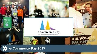 e-Commerce Day 2017: Follow us around!