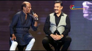 Why Not Sharing Screen with Rajini? Kamalhassan Open Talk!...