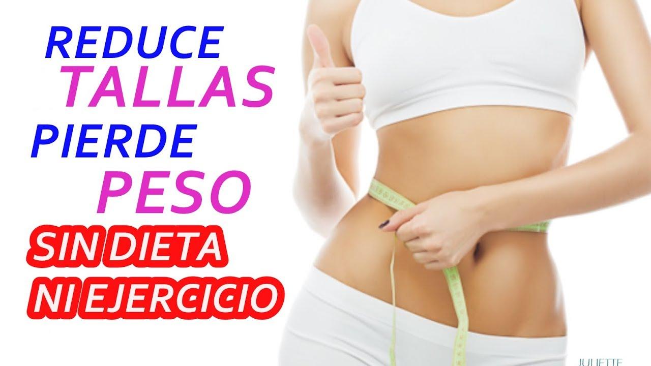 como bajar de peso sin dietas solo con ejercicio