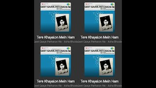 Tere Khayalon Me Hum  Song by Asha Bhosle