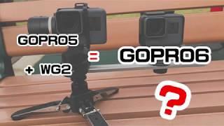 [GOPRO評測]GOPRO5+WG2與GOPRO6穩定度大PK(GOPRO5u00266 Stability Evaluation)