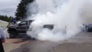 "Cruisin"" Sherwood 2014 Burnout, Ford F250 Powerstroke"