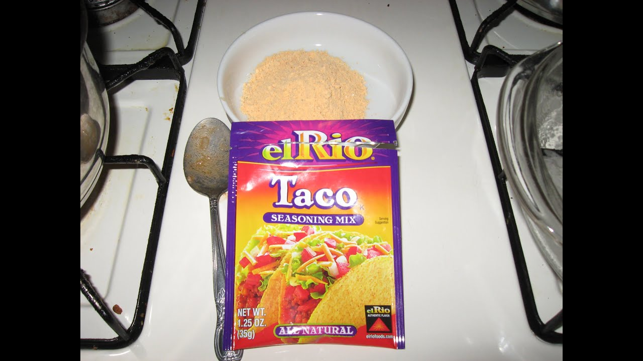 Product Review El Rio Taco Seasoning Mix Package Fail Fail Fail