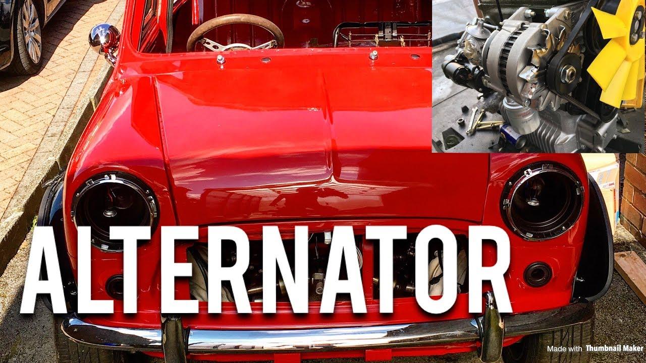 Clic Mini Restoration | Fitting The Alternator A Mini Alternator Wiring on