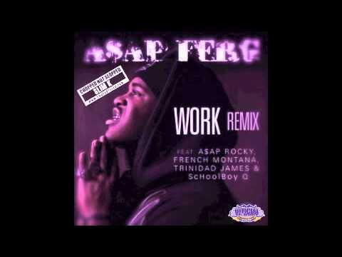 ASAP Ferg - Work (Remix) (Chopped Not Slopped by Slim K)