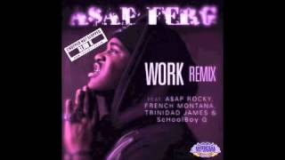 ASAP Ferg - Work (Remix) (Chopped Not Slopped by Slim K)