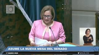 Discurso de asunción de la Presidenta del Senado 2020-2021, Adriana Muñoz D'Albora