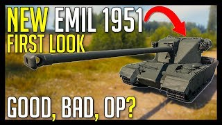 ► New EMIL 1951, Swedish Premium Heavy First Look - World of Tank EMIL 1951 Preview