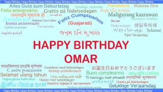 Omar   Languages Idiomas - Happy Birthday