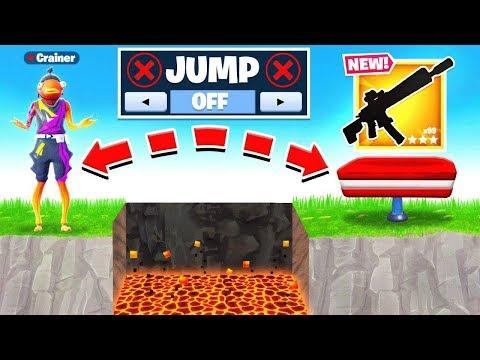 NO JUMP *CHALLENGE* Loot RUN in Fortnite