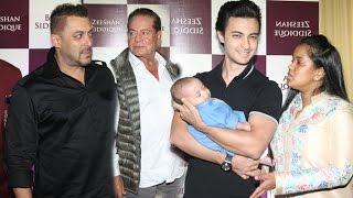 Salman Khan Entire Family At Baba Siddiqui Iftar Party 2016 | Salim Khan, Arpita,Helen