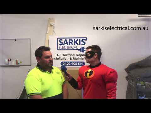 Sarkis Electrical Sponsor of the 2019 Incredibles hour.