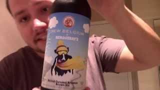 California beer reviews: new belgium + Ben & Jerry's Salted Caramel Brownie Ale