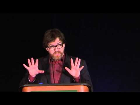 Ernest Cline (author, READY PLAYER ONE) at First-Year Experience® 2013 Random House Luncheon