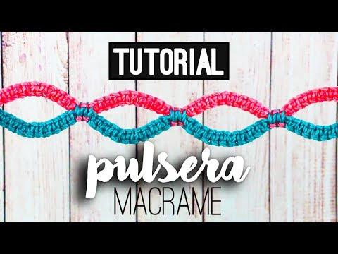e937c3dd60d0 PULSERA DE MACRAME » 🌀 tutorial