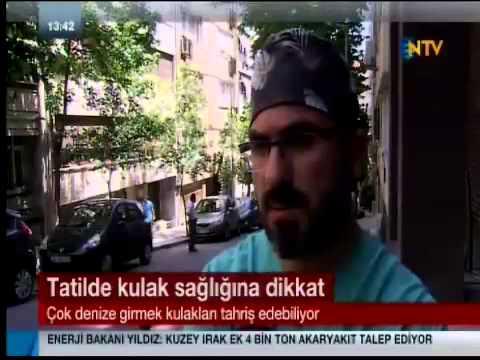 NTV kulak enfeksiyonları Op.Dr. Süreyya Şeneldir
