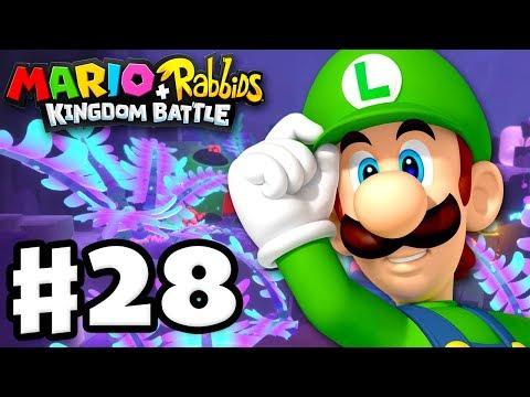 Download Youtube: Mario + Rabbids Kingdom Battle - Gameplay Walkthrough Part 28 - World 4! Clandestine Cave!