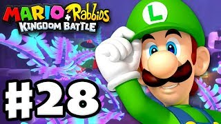 Mario + Rabbids Kingdom Battle - Gameplay Walkthrough Part 28 - World 4! Clandestine Cave!