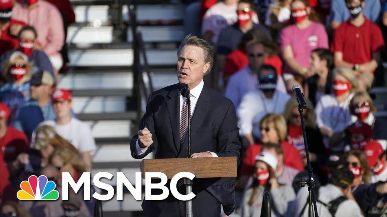 Republican Sen. David Perdue mocks Kamala Harris'...