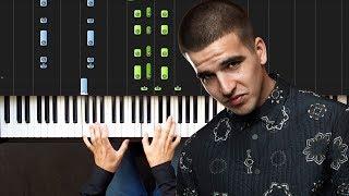 FEDUK - Хлопья летят наверх | Piano Tutorial | Ноты