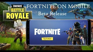 Fortnite On Android | New Release🔥 | The Reality