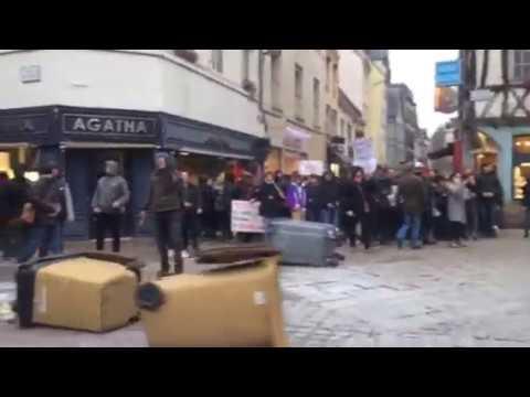 Rouen : débordements lors de la manifestation en soutien à Théo