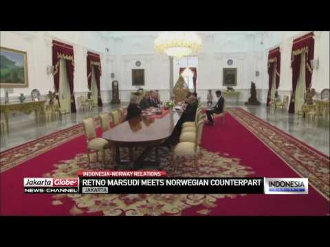 Indonesia, Norway Strengthen Bilateral Ties In Investment, Environment