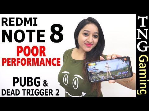 REDMI NOTE 8 - Extreme Gaming (PUBG) Performance,Heating & Battery