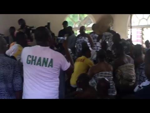 Ghana Blackstars visit to Manhyia Palace Ahead of Ghana vrs Ethiopia match
