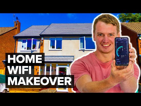 Home WiFi Makeover with Netgear Orbi - AWFUL to AWESOME!!
