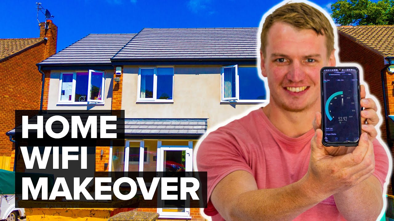 Home WiFi Makeover with Netgear Orbi - AWFUL to AWESOME