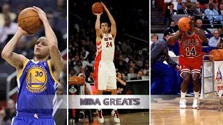 Top 5 3 Point Shootout Performances of All Time - Stephen Curry, Jason Kapono, Craig Hodges