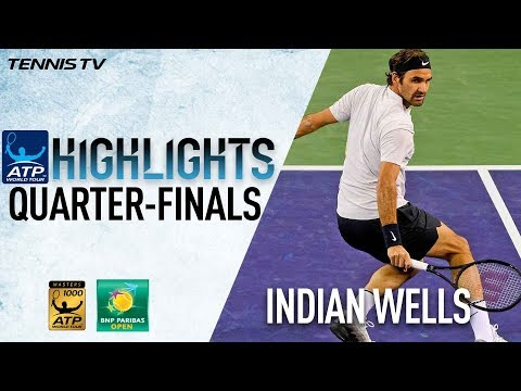 Highlights: Federer, Coric Surge Into Indian Wells SF 2018 thumbnail