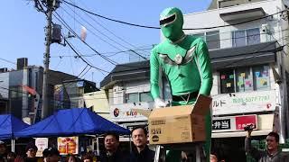 名古屋伝統文化「お菓子撒き」in 東京都方南町 2018/3/11
