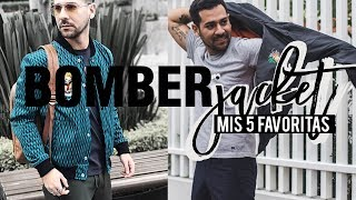 BOMBER JACKET - MIS 5 FAVORITAS / STREET PEPPER